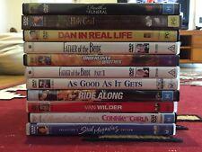 DVD BULK COLLECTION - 132 DVDs! Comedy, Drama, Romance, Romcom, Thriller, Action