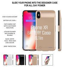 £ 25 iPhone XR Powerpack Externo Batería Inteligente Cargador Externo caso