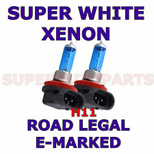 FORD RANGER 2012+ 2 X H11 HALOGEN XENON SUPER WHITE  LIGHT BULBS LAMP