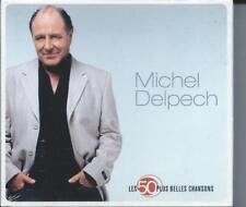 Michel Delpech : Les 50 Plus Belles Chansons Coffret 3 CD Neuf sous cellophane