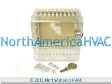 Robertshaw Diversitech Thermostat Guard Clear Case Lock & Key A90-054 TG-EK
