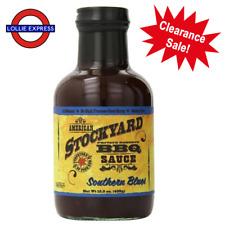 "Stockyard BBQ Sauce - America's finest - ""Southern Blues"""