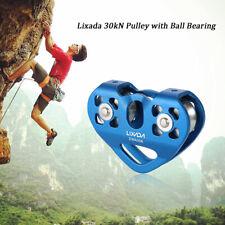 Lixada 30kN Cable Trolley Pulley +Ball Bearing Climbing Caving Aloft Rescue G8I9