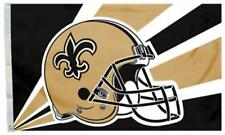Saints FLAG 3X5 New Orleans Banner American Football Fast USA Shipping Helmet