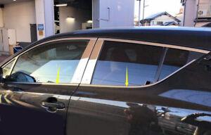 Fit for Toyota C-HR 2016-2020 Steel Chrome Bottom Window Strip Decor Trim 6PCS