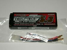 Turnigy nano-tech 5300mah 7.4V 2S2P 30~60C Hardcase Lipo Pack (ROAR APPROVED)