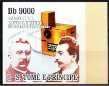 Guinea Bissau 2007 MNH Imperf, Lumiere Brothers Invented 1st Color Photography (