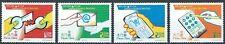 Macau - Elektronische Kommunikationsmittel Satz postfrisch 2001 Mi. 1148-1151