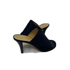 Antonio Melani Womens At Ease Slip On Mule Heel Black Size 7 Business Open Toe