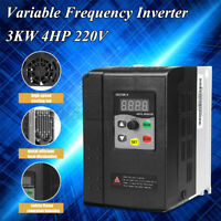 3KW 4HP 220V 13A 1 To 3 Phase Variable Frequency Inverter Motor Drive VSD