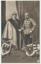 AK Viribus Unitis S.M.Kaiser Wilhelm und Franz Joseph  (4909)