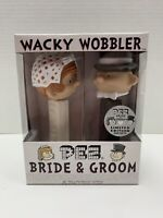 Funko PEZ  Bride & Groom Limited Edition 5000 Wacky Wobbler Set