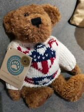 Boyds Bears Plush Stevenson Bearitage 20th Anniversay, 91736, Great Condi w tags