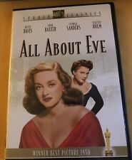 """""""All About Eve� (Dvd, 2003, Studio Classics) Bette Davis And Anne Baxter"""