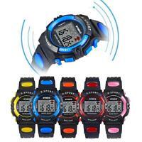 SYNOKE Waterproof Sport LED Digital Wrist Watch Child Boy Girl Movement Watches