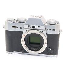 Fujifilm Fuji X-T30 26.1MP Mirrorless Digital Camera Body (Silver) #126