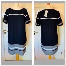 Navy Blue Next Petite Dress Size 12 (5274)
