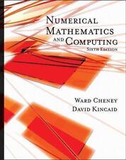 Numerical Mathematics and Computing, E. Ward Cheney, David R. Kincaid, Good Book
