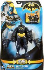"Batman Deluxe Power Attack Combat Cape Batman 6"" Action Figures"