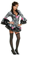 Secret Wishes Women's Sexy French Kiss Victorian Maid Pirate Adult Costume  XS