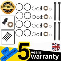 4X INJECTOR SEAL KIT & BOLTS FOR BOSCH PD INJECTOR VW TRANSPORTER 1.9 TDi FR