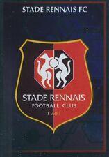 411 ECUSSON BADGE LOGO METAL STADE RENNAIS FC  STICKER PANINI FOOT 2018