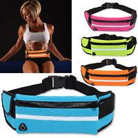 Waterproof Waist Belt Bum Bag Jogging Running Travel Pouch Mobile Money Wallet