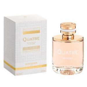Quatre by Boucheron 3.3 / 3.4 oz EDP Perfume for Women New In Box