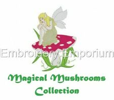 MAGICAL MUSHROOMS COLLECTION - MACHINE EMBROIDERY DESIGNS ON CD OR USB