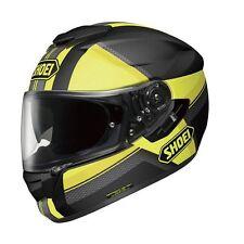 Shoei GT Air Exposure TC3 Matt Black Yellow Sun Visor Motorcycle Helmet Small