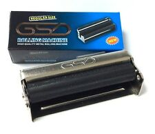 REGULAR SIZE GSD CIGARETTE ROLLING MACHINE HIGH QUALITY METAL 70mm FREE POSTAGE