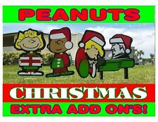 Peanuts Gang Snoopy Christmas Super Combo Add On Characters