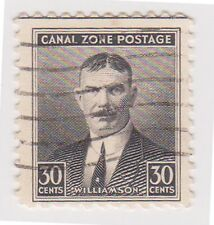 (CZ-31) 1928 Canal Zone 30c Williamson (C)