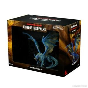 PREORDER D&D Icons of the Realms Premium Miniature pre-painted Adult Blue Dragon