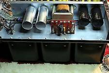 McIntosh MC240 MC-240 Tube Amplifier Bench Check and Power Supply Rebuild