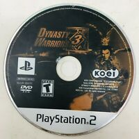 Dynasty Warriors 3 (Sony PlayStation 2, 2001) PS2 DISC ONLY