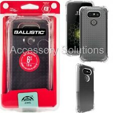 Ballistic LG G5 Jewel Bumper Gel Case Slim Cover Clear, JW4111-A53N