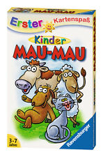 32 Blatt Ravensburger Kinder Erster Kartenspaß Kinder Mau-Mau 20430