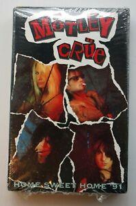 Mötley Crüe – Home Sweet Home '91 Remix Cassette Single NEW/SEALED 1991