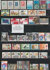 72 timbres des PAYS-BAS  oblitérés 10 Séries   très bon état identique au  scan