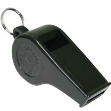 Moulded Plastic Aqua Pool Sports High Pitch Black Plastic Whistle Pack Of 12
