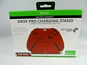 Controller Gear Xbox Pro Charging Stand (Oxide Red) New SEALED !