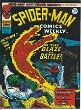 MARVEL SPIDER-MAN COMICS WEEKLY #95, 1974 BRITISH EDITION