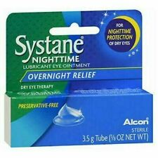 2 Paquet Systane Nuit Lubrifiant Eye Pommade 3.50G Chaque
