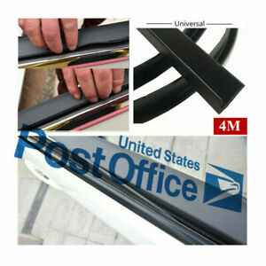 4M Window Glass Edge Sealed Strip Aging Sealed Strips Trim Replace Universal #