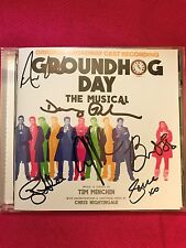 SIGNED GROUNDHOG DAY: THE MUSICAL ORIGINAL BROADWAY CAST RECORDING CD +XTRAS WOW