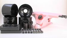 70mm 78a Black Wheels and Pink Reverse Kingpin Truck Combo Set