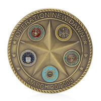 Operation New Dawn Saint George Challenge Coin Collection Souvenir Commemorative