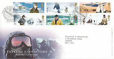29 APRIL 2003 EXTREME ENDEAVOURS ROYAL MAIL FIRST DAY COVER PLYMOUTH SHS