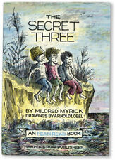 Myrick, Lobel-THE SECRET THREE-[1963]-I CAN READ book-CRYPTOGRAPHY-NEAR FINE